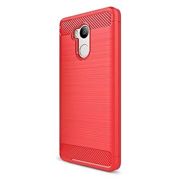 Funda XiaoMi RedMi 4 Pro - Moda Delgado TPU Cáscara Prueba de Choques Suave Cubierta Posterior Carcasa y Fibra de Carbono Diseño Funda para XiaoMi ...