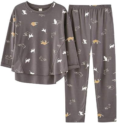 Pijamas Primavera Primavera Y Otoño Dibujos Animados Frescos ...
