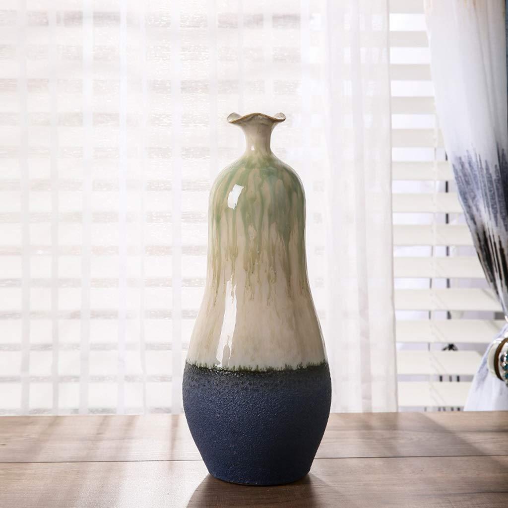 新しい中国のセラミックボトル花瓶装飾装飾装飾ホーム QYSZYG (サイズ さいず : High35CM) B07RHMPYYR  High35CM