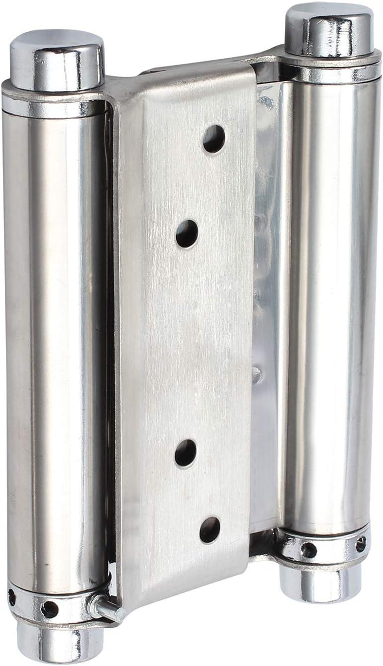 AUTOUTLET 2 x100mm Pendelt/ürband Pendelt/ürscharnier Schwingt/ür T/ürband Scharnier Edelstahl