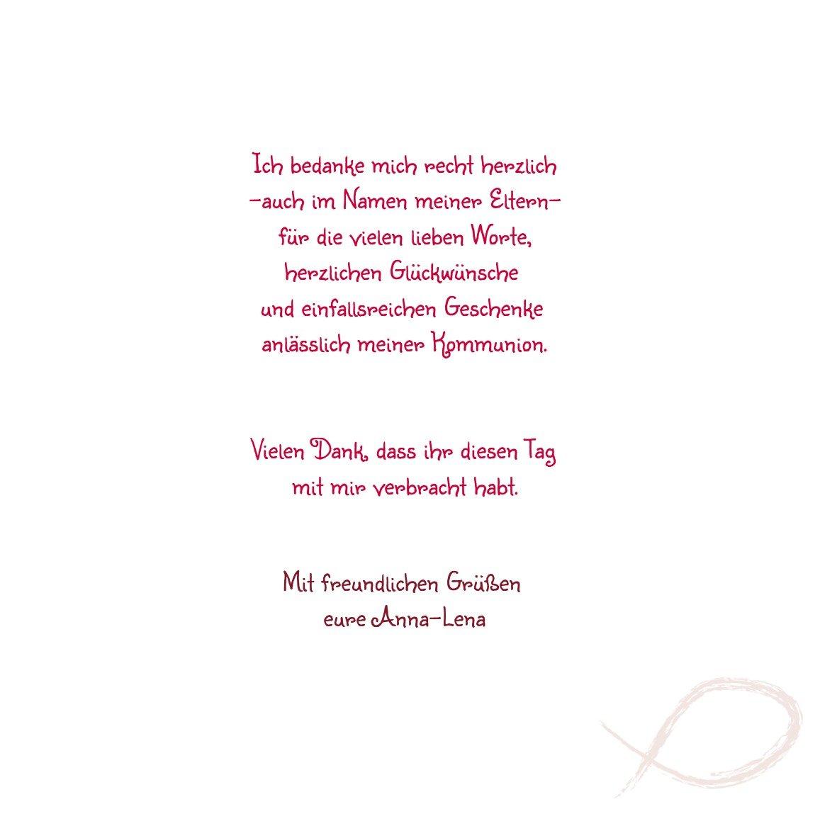 Kartenparadies Dankeskarte Kommunionswünsche Kommunion Dankeskarte Fische, hochwertige Danksagung für Kommunionsfeier Kommunionsfeier Kommunionsfeier inklusive Umschläge   20 Karten - (Format  145x145 mm) Farbe  Liladunkel B01N28AIOS | Lebhaft  | Günstige  | Verschieden 553ea2