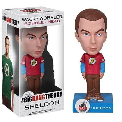 Funko Big Bang Theory Sheldon Wacky Wobbler: Funko Wacky Wobbler: Toys & Games