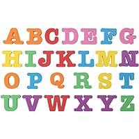 Zerodis Conjunto Completo Letras del Alfabeto del Bebé Magnético Números para Niños Rompecabezas Imán de Nevera Educativo Juguete de Aprendizaje Regalo de Cumpleaños de los Niños