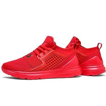 GAOLIXIA Malla Transpirable de los Hombres Zapatillas de Deporte de Verano Calzado Ligero Zapatos de Deportes al Aire Libre Zapatos Casuales Caminar Zapatos ...