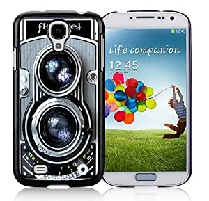 classic diy case Cover pc hard for Samsung Galaxy S4 black hjbrhga1544