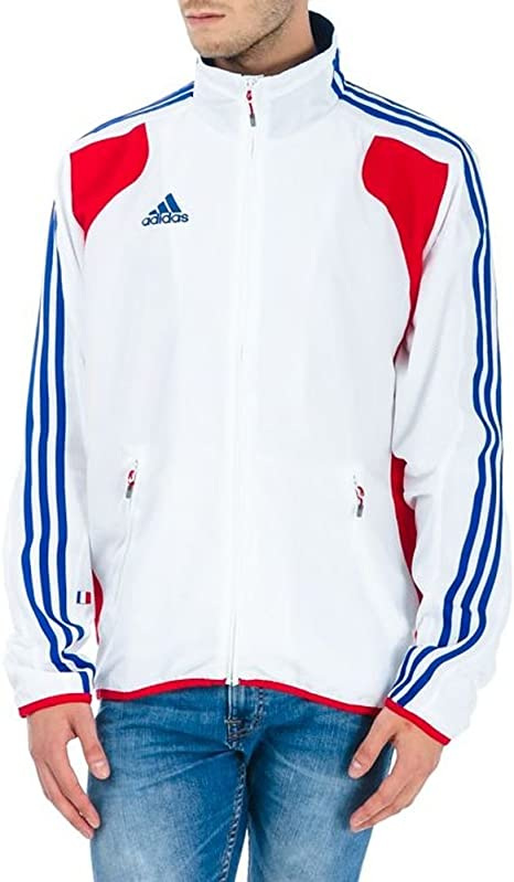 VESTE SURVETEMENT ADIDAS FRANCE TAILLE 186cm:
