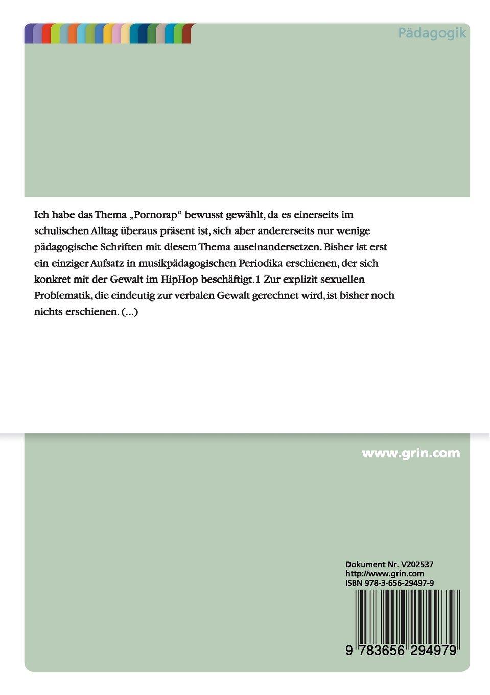 Pornorap. Ein 'heißes' Thema für den Musikunterricht (German Edition)