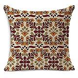 MAYUAN520 Decorative Pillows Car Seat Linen Cushion Nordic Vintage Geometric Outdoor Chair Cushions Home Decor For Sofas Pillow,Light Green