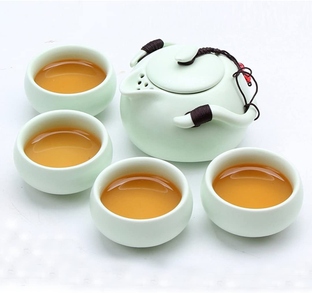 La Haute cer/ámica tetera Quik tazas de t/é chino japon/és porcelana Kungfu Juego de t/é para oficina en casa negocio
