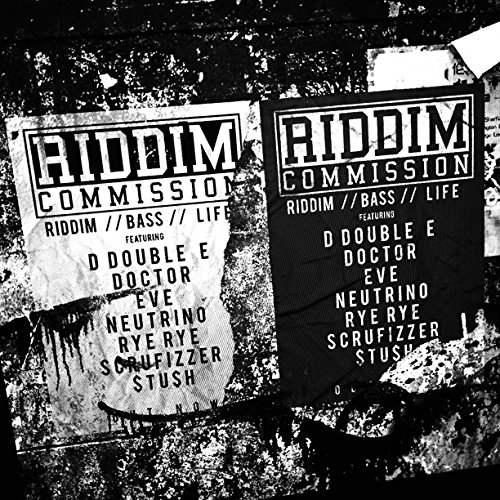 Riddim Commission Riddim. Bass. Life album cover