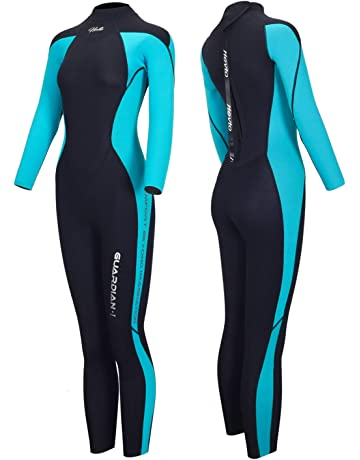 68ba62056aac Hevto Wetsuits Women Guardian 3mm Neoprene Full Scuba Diving Suits Surfing  Swim Long Sleeve Keep Warm