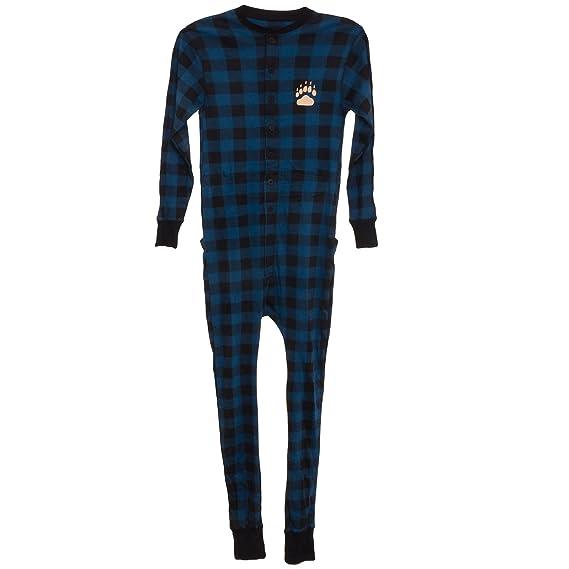 Lazy One oso Cheeks adulto pijama para tortitas traje de unión: Amazon.es: Ropa y accesorios