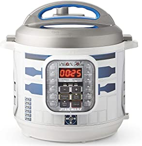 Instant Pot 112-0104-01 6Qt Star Wars Duo 6-Qt. Pressure Cooker, R2-D2, White with Blue R2D2