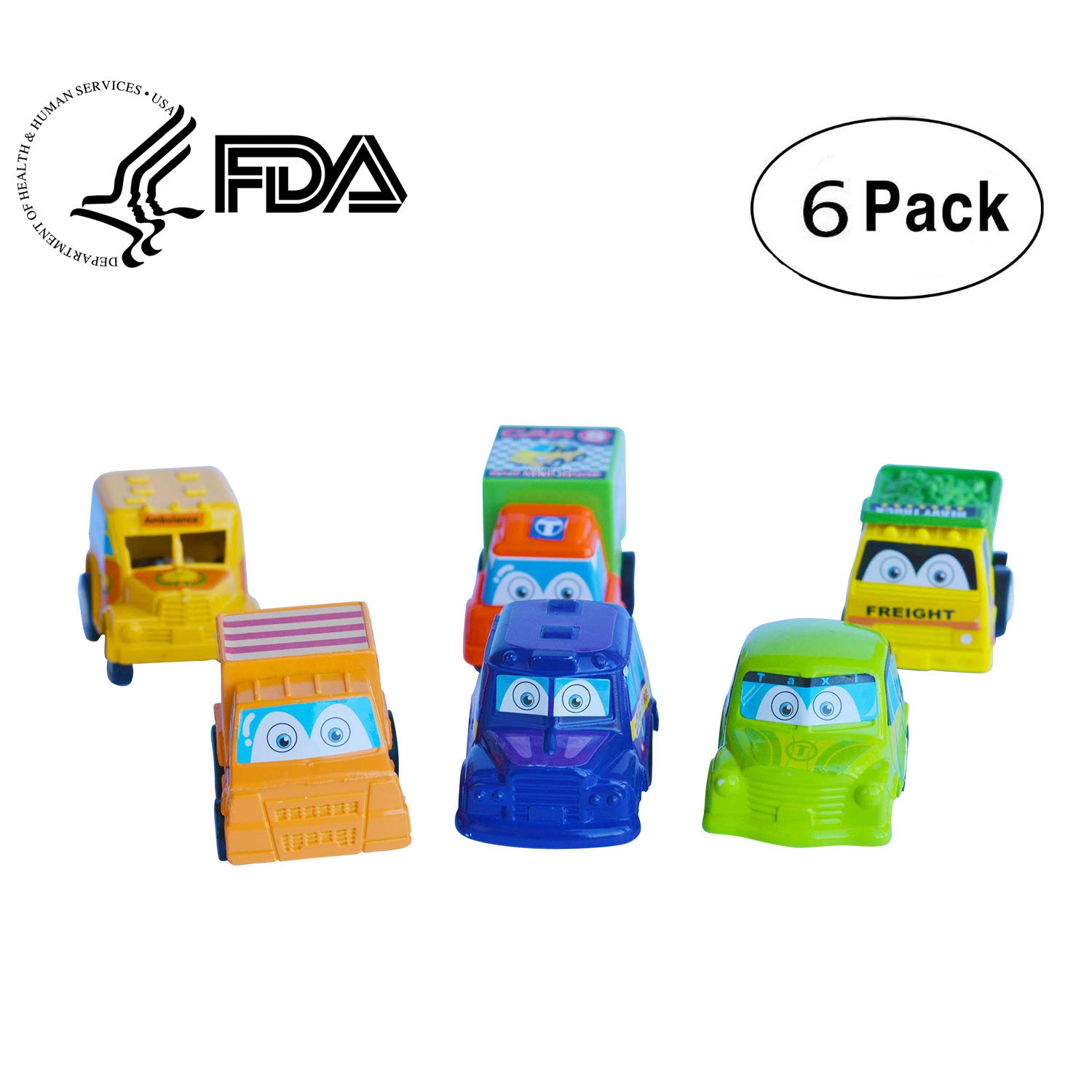 Pull Back Vehicles,Assorted For Construction Vehicles and For Raced Car Pull Toy,Mini Push Pull Back Car Baby Toy Set, Vehicle Play Set For Children For Fun B0745KH7C7, 無料配達:92c55aec --- itxassou.fr