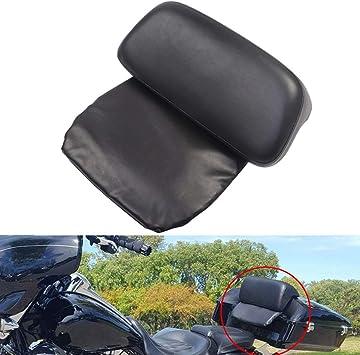 XFMT Razor Chopped Tour Pack Backrest Pad For Harley Touring Models Road King 14-20