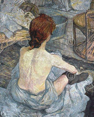La Toilette Henri de Toulouse Lautrec Impressionist Women French Poster (Choose Size of Print) ()