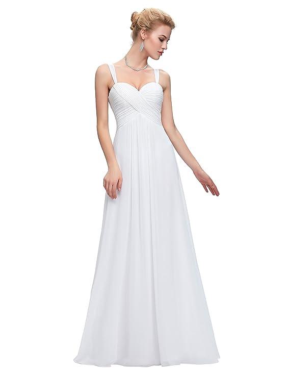 Belle Poque® Vestido Largo de Fiesta para Boda Vestido de Gala sin Mangas de Ceremonia para Mujer Maxi: Amazon.es: Ropa y accesorios