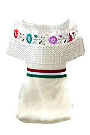 c3df325f92dc Traditional Mexican Blouses (Beige) at Amazon Women s Clothing store