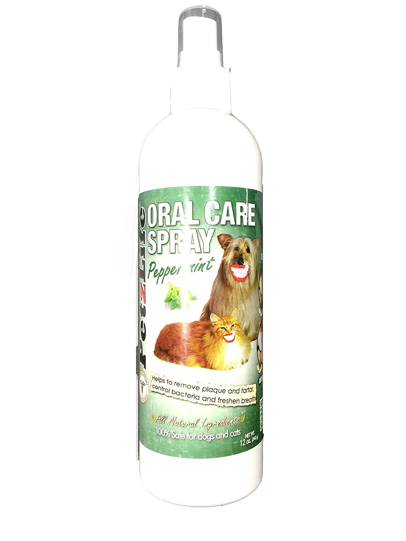 PetzLife Oral Care Spray bottle - Peppermint 12oz