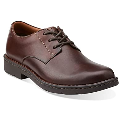 Clarks Men's Stratton Way Dress Shoes Brown 17 M: