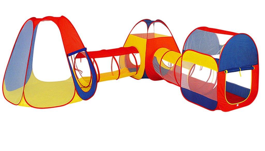 HWZPPP KJZhu Zelt im freien, Kind Spiel Zelt kriechzylinder Faltbare Montage Indoor Haushalt Spielzeug Zimmer Geburtstagsgeschenk Faltbar