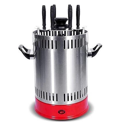 ZWZT Barbacoa eléctrica de interior sin humo Barbacoa automática de la casa Barbacoa rotativa automática Barbacoa