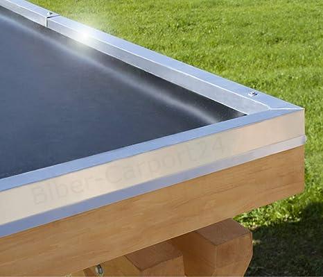 Top 4,57m Breite EPDM-Folie 1,52 mm für Carport, Garage, Vordach oder VV86