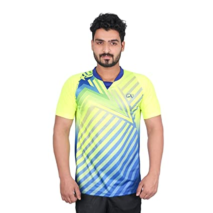 Vector X VRS-003 Sublimation Men's T-Shirt (Green) Men's Running T-Shirts at amazon