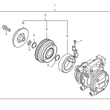 2005 kia spectra lx belt diagram wiring diagrams instructions 2005 Ford Explorer Fuse Diagram amazon autosaver88 a c pressor clutch for kia spectra 2004 2003 kia spectra serpentine belt diagram 2005 kia spectra lx belt diagram