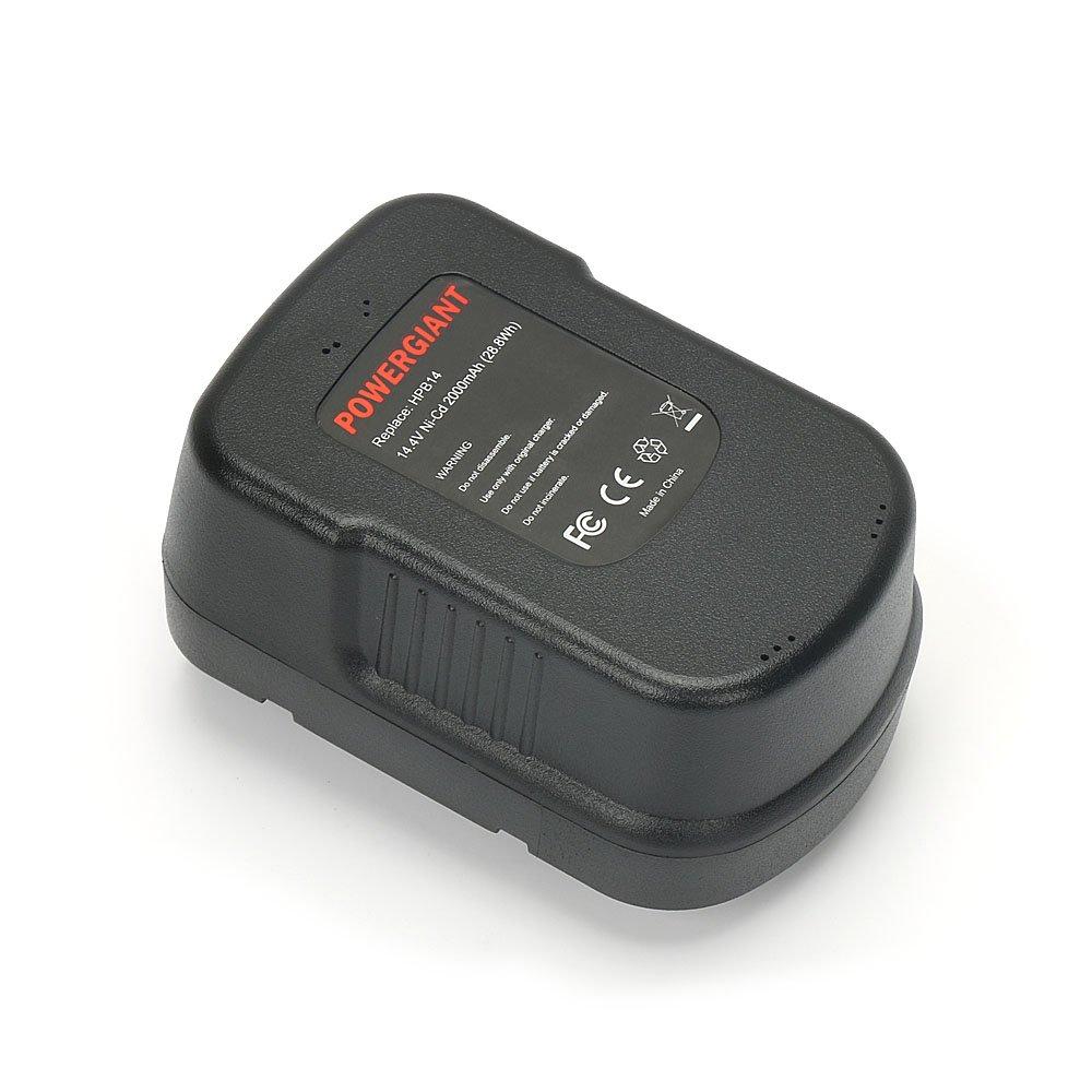 PowerGiant 14.4V 2.0Ah HPB14 Battery for Black & Decker Firestorm 14.4 Volt FSB14 FS140BX A14 A1714 BD1444L 499936-34 499936-35 Power Pack by POWERGIANT (Image #5)