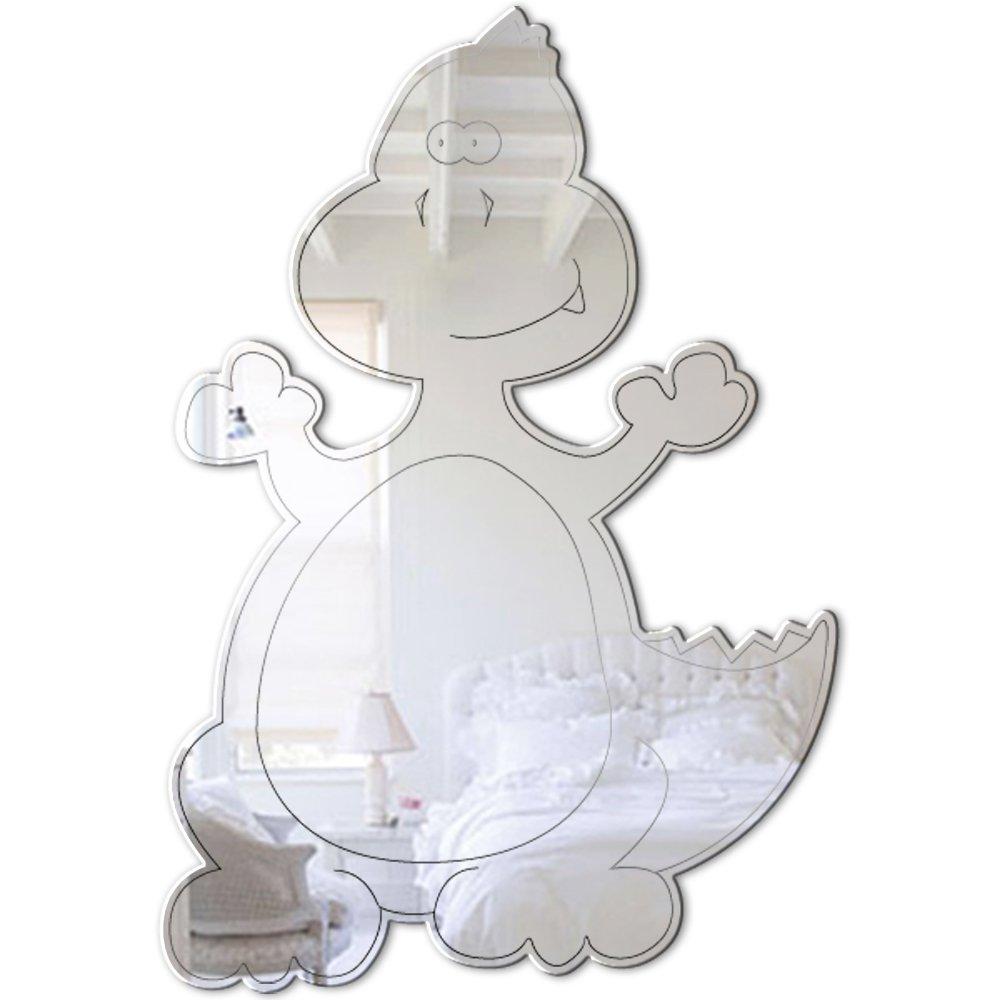 Mungai Mirrors 0303 Baby T-Rex Acrylic Mirror by Mungai Mirrors