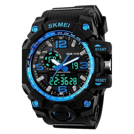 Mens Womens Sport Watch Military Watch Smartwatch Digital 30 m ...