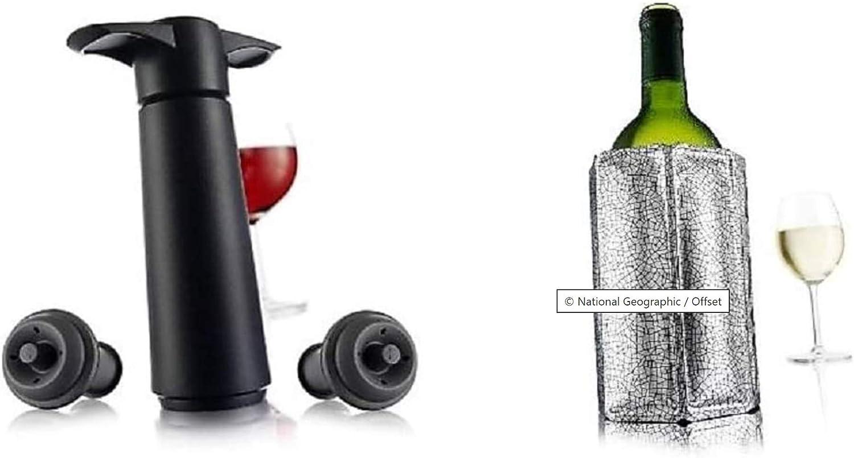 Vacu Vin Wine Server /& Stopper Set of 2