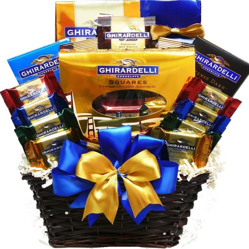 Ghirardelli Chocolate Lovers Gift Basket (Gift Baskets For Office Staff)