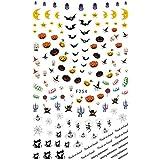 irogel イロジェル ネイルシール ハロウィンバラエティシール 【F254】ハロウィン ランタン おばけ スカル スパイダー 魔女