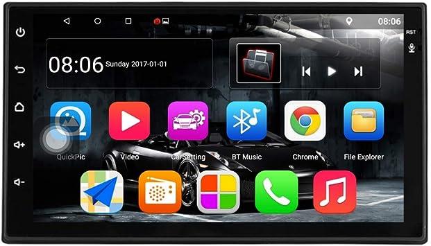 Toogoo Android 7 1 Auto Radio 7 Zoll 1024x600 1080p Quad Core 2din Android Kopf Einheit Gps Navigation Audio Radio 1g 16g Auto