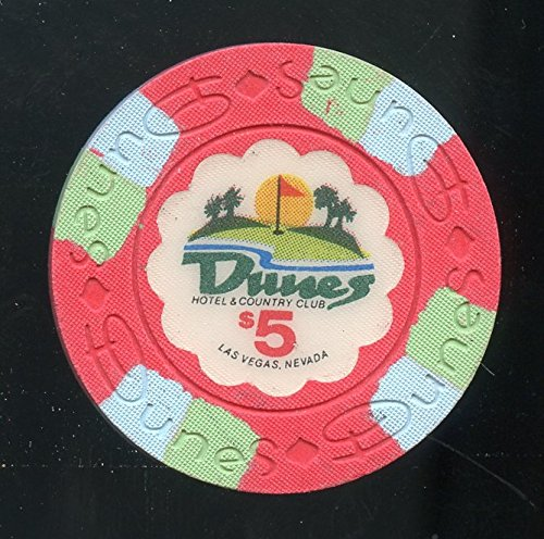 $5 DUNES 16th issue Old Obsolete Las Vegas Casino Chip ()