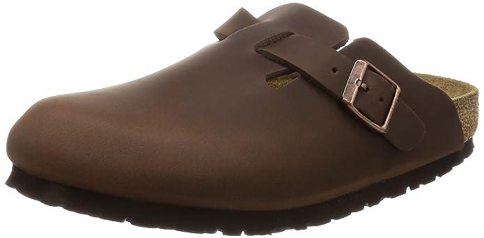 80c7e223c6af32 BIRKENSTOCK Unisex-Erwachsene Boston Leder Clogs  Amazon.de  Schuhe    Handtaschen