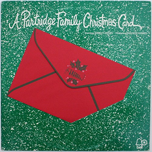 Vintage Christmas Vinyl A Partridge Family Christmas Card Original Bell Records Stereo release 6066 - Family Christmas Partridge The