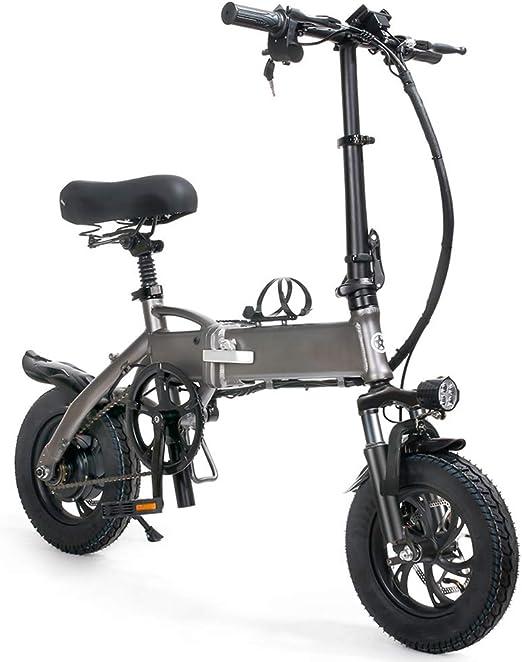 CYC Bicicleta Eléctrica Plegables Bici Electricas Adulto con Ruedas de 12