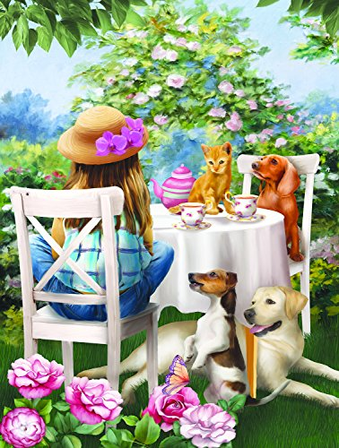 Tea Party 300 pc Jigsaw Puzzle by SunsOut by SunsOut