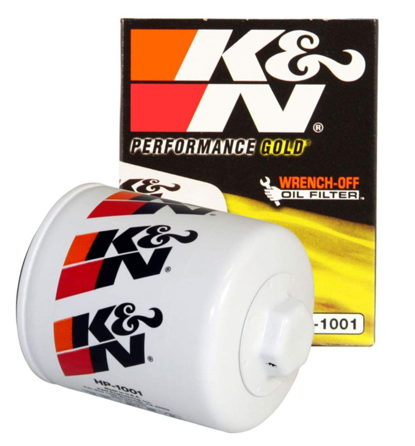 K&N Premium Oil Filter: Designed to Protect your Engine: Fits Select CHEVROLET/GMC/BUICK/PONTIAC Vehicle Models (See Product Description for Full List of Compatible Vehicles), HP-1001