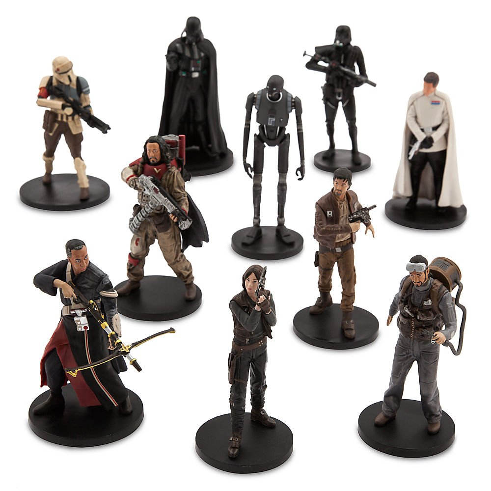 amazon com star wars rogue one a star wars story deluxe figurine