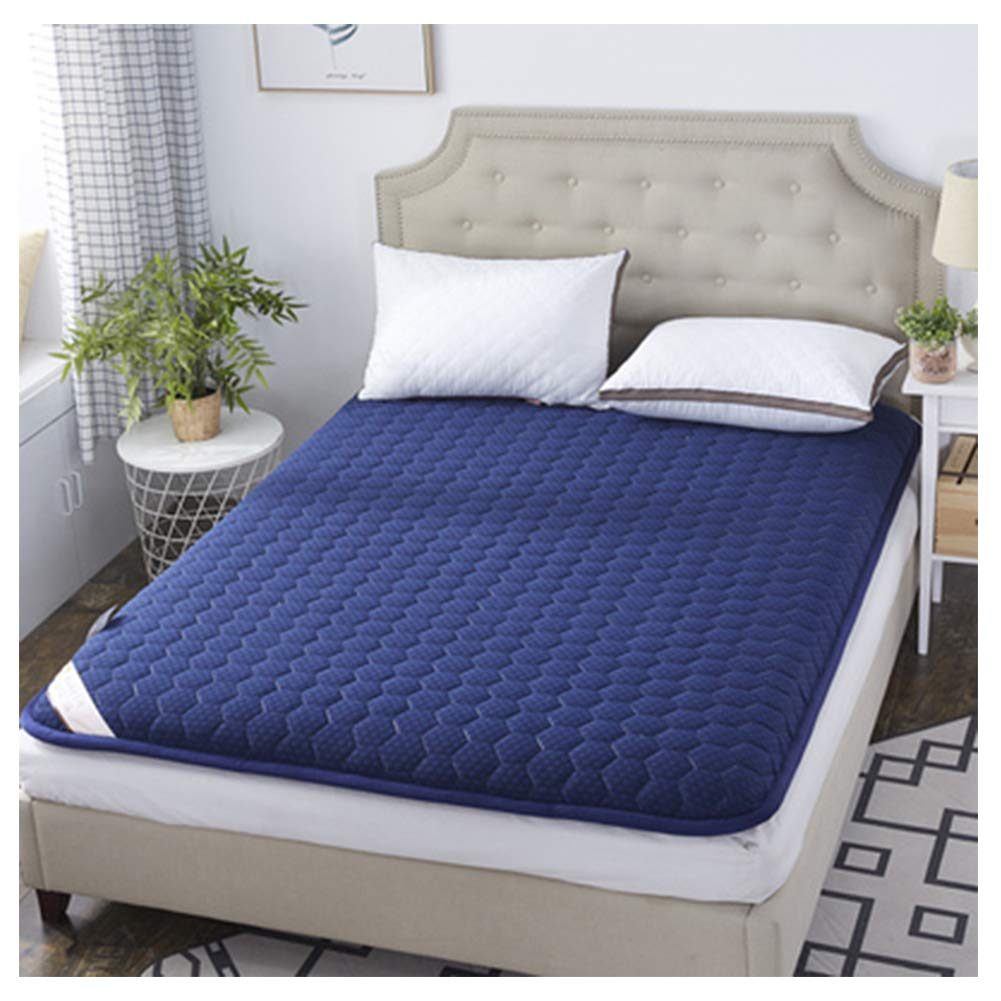 Mattress Tatami, Student Dormitory, Non-Slip Foldable, Floor mat, Moderate Thickness, Comfortable Sleep, All Seasons Available,H,90200/3579inch by Mattress