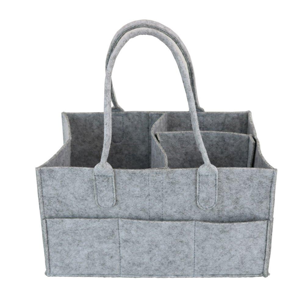 PFFY Diaper Caddy Organizer Baby Shower Basket Portable Nursery ...
