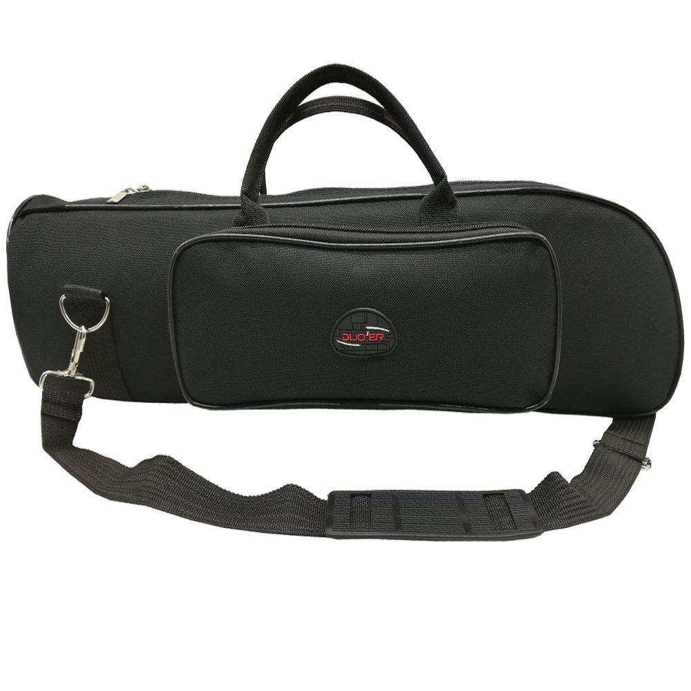 Xinlinke Trumpet Gig Bag 5mm Padded Soft Carrying Case with Single Shoulder Strap