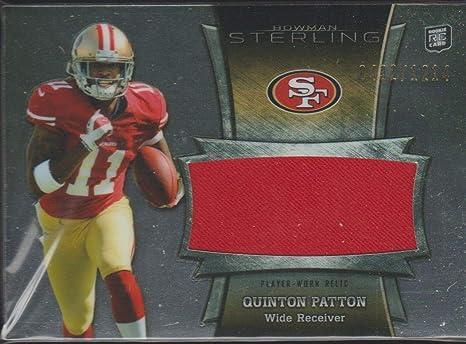 Amazon.com: 2013 Bowman Sterling Quinton Patton 49ers 432/1214 ...
