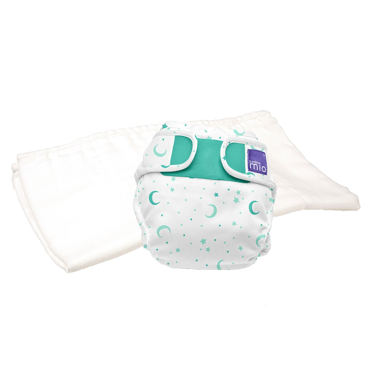 Size 1 Bambino Mio Miosoft Nappy Trial Pack Less Than 9 kg 2-Piece Spider Monkey