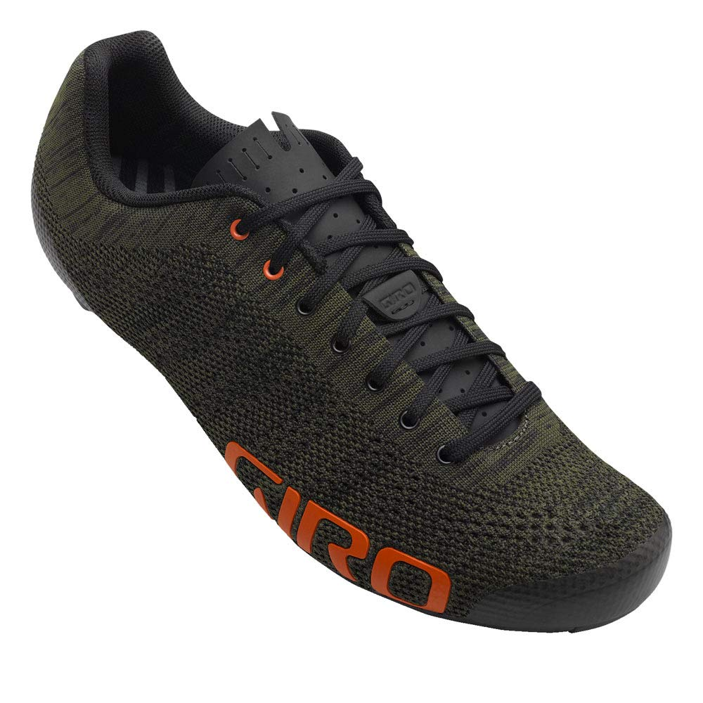 Giro Empire E70 Knit Olive Floral Road Cycling Shoes