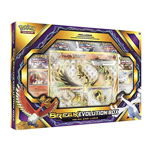 Pokemon TCG: BREAK Evolution Box 2 Featuring Ho-Oh and Lugia by Pokemon Cards